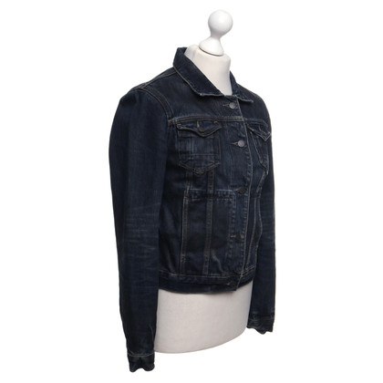 All Saints Denim jas in used-look