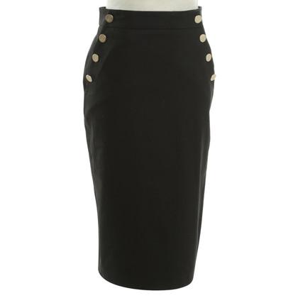 Max Mara Pencil skirt in black