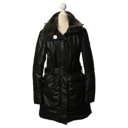 Peuterey Coat with real fur collar