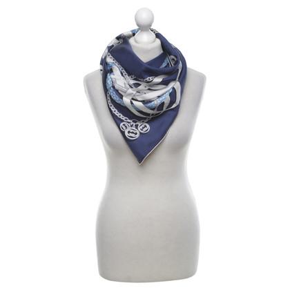Gucci Seidentuch in Blau