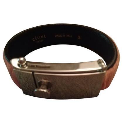 Céline Pink pony fur bracelet