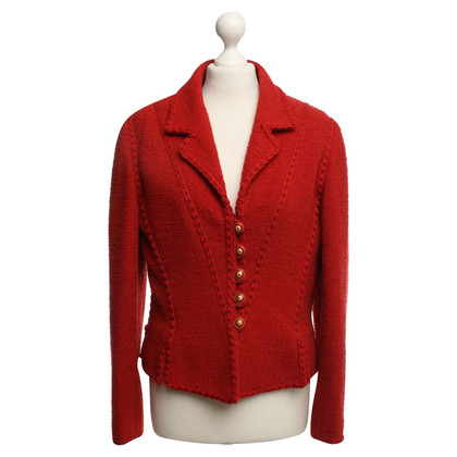 Chanel Blazer en rouge