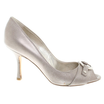 Christian Dior Pumps in Silberfarben