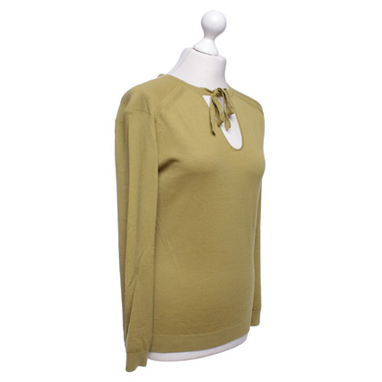 Philosophy di Alberta Ferretti Yellow-green pullover