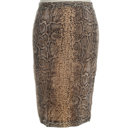 Dolce & Gabbana skirt with reptile print