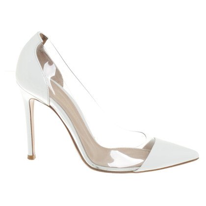 Gianvito Rossi in pelle verniciata pumps
