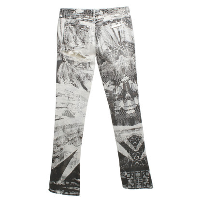 Roberto Cavalli Jeans im Destroyed-Look