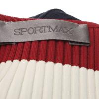 Sport Max Geribde jurk in multicolor