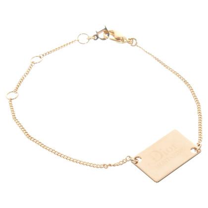 Christian Dior Goldfarbenes Armband