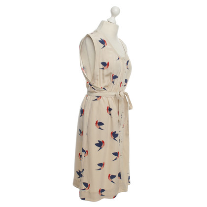 Marc Jacobs Silk dress with bird print