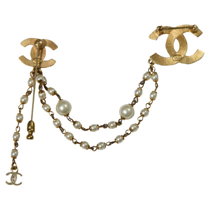 Chanel Double brooch