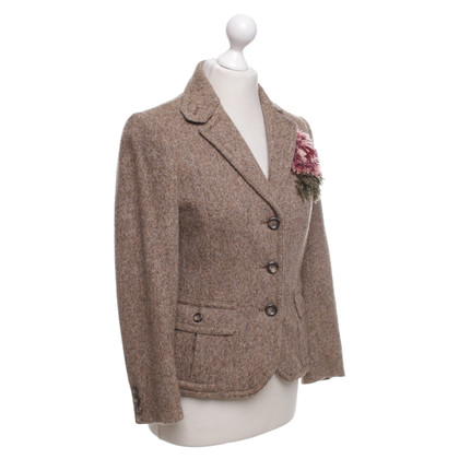 Moschino Cheap and Chic Wollblazer in Braun