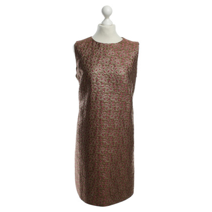 Red Valentino Dress with gold effect yarn