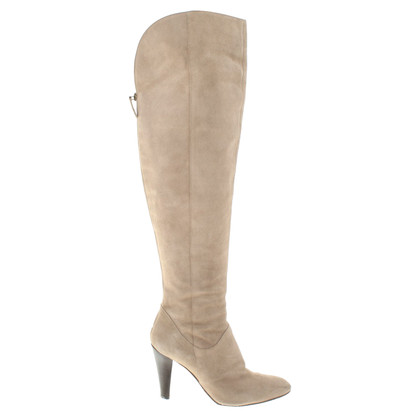 Moschino Suede boots