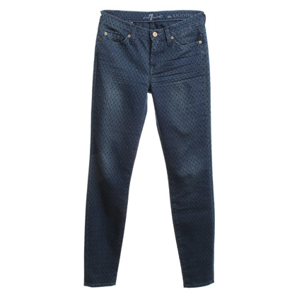 7 For All Mankind Jeans met patroon