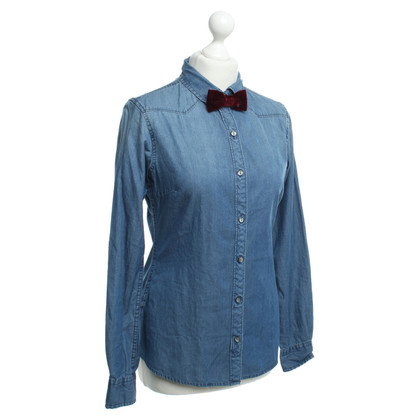 Maison Scotch Jean blouse in blauw