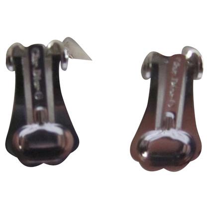 Christian Dior Ladybug Earrings
