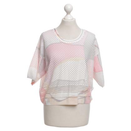 Kenzo Chemise en tricot multicolore