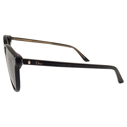 Christian Dior Schwarze Sonnenbrille