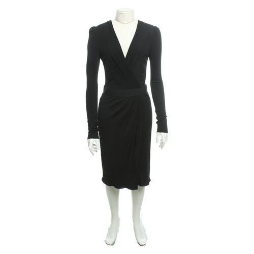 abf34c6cc147 Dolce   Gabbana Kleid in Schwarz - Second Hand Dolce   Gabbana Kleid ...