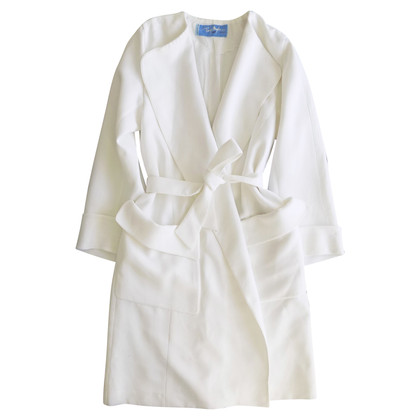 Mugler Trench coat in white