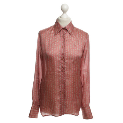 Gucci Silk blouse with patterns