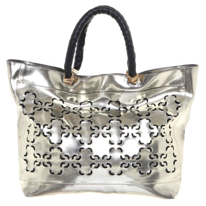 Coccinelle Borsa in look metallico
