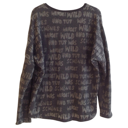 Lala Berlin Sweater with typography