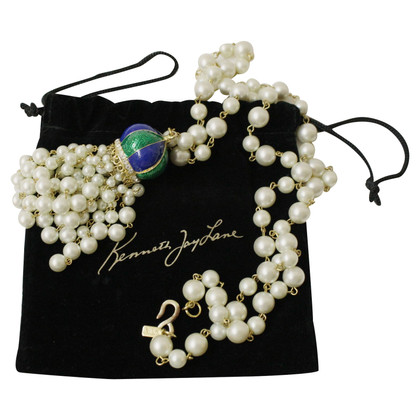 Kenneth Jay Lane Chain with pearls