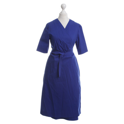 Cos Wickelkleid in Royalblau