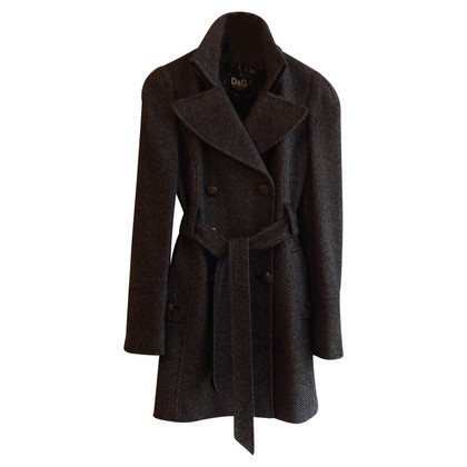 D&G Coat with pattern