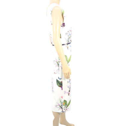 Ted Baker Floral dress in white