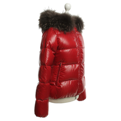 Duvetica Down jacket in red