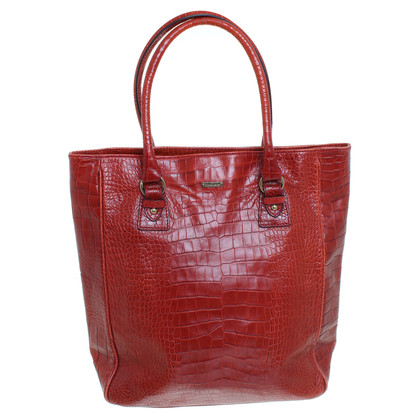 Max Mara Shoppers in reptile finish