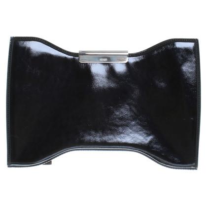 Alexander McQueen clutch in zwart