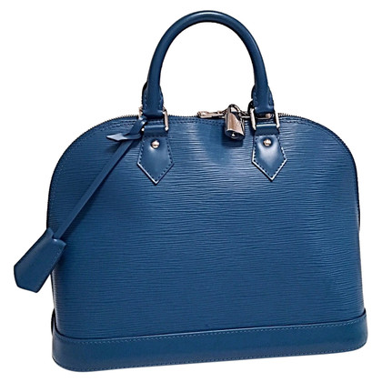 "Louis Vuitton ""Alma PM EPI leather"" in turquoise"
