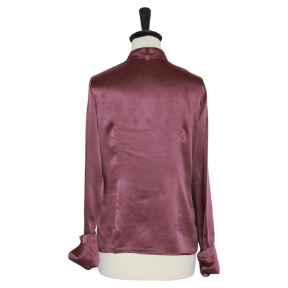 Max & Co Zijden blouse in Bordeaux