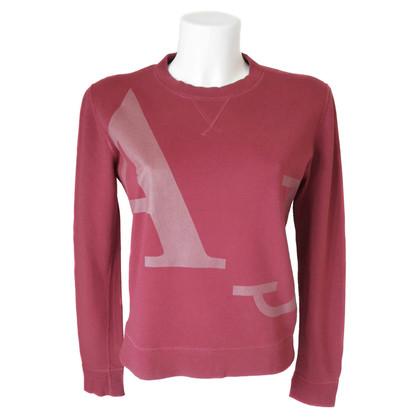 Armani Jeans Red cotton Sweatshirt