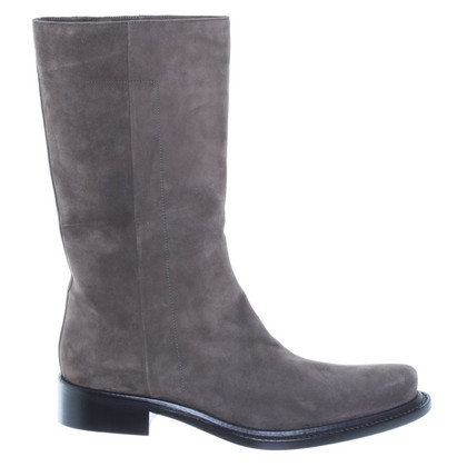 Prada Khaki suede boots