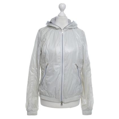 Duvetica Kort jasje in crème wit