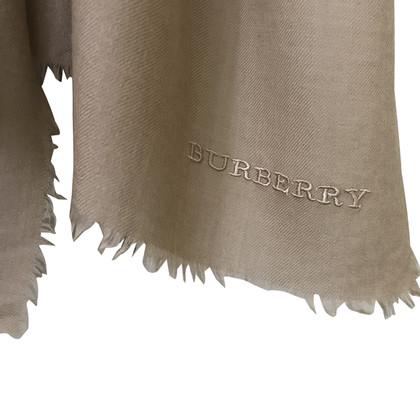 Burberry sciarpa di cachemire