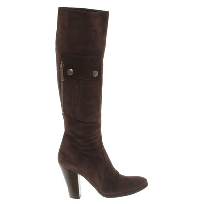 Luciano Padovan Suede boots in brown