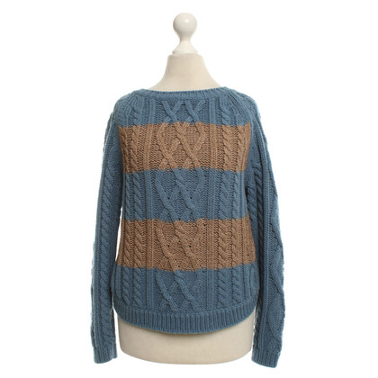 Stefanel Knitted sweater in bicolour