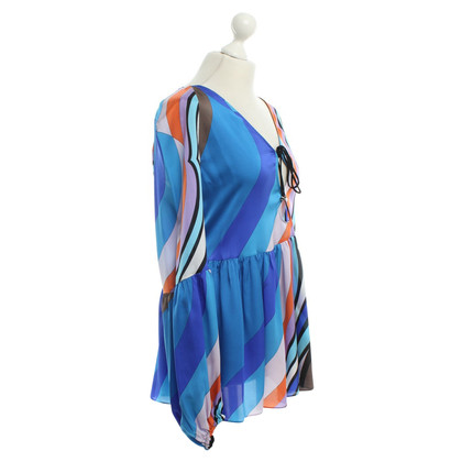 Emilio Pucci Silk shell with pattern