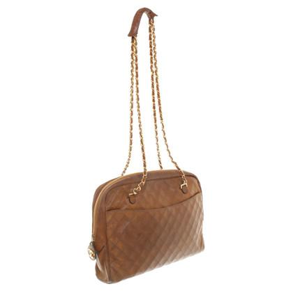 Chanel Schoudertas in bruin