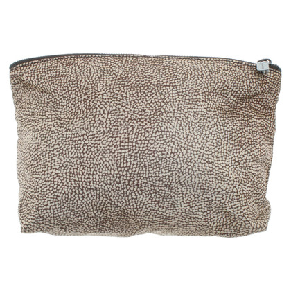 Borbonese Toiletry bag with print