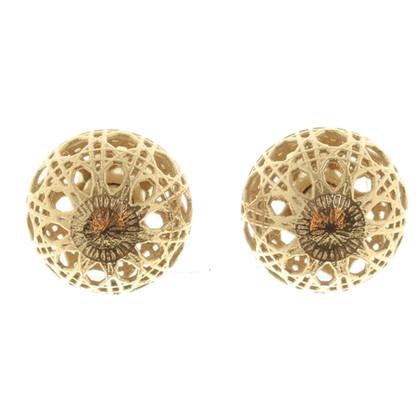 Christian Dior Boucles d'oreilles de style tribal