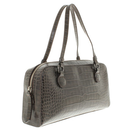 Moschino Cheap and Chic Handtasche in Reptil-Optik