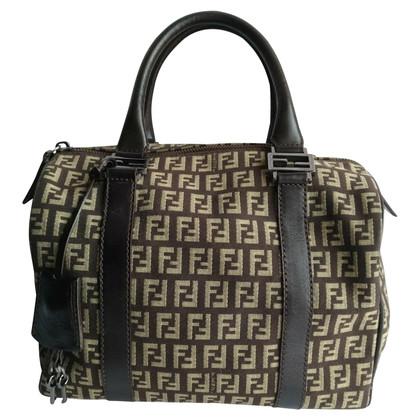Fendi Handtasche mit Logo-Muster