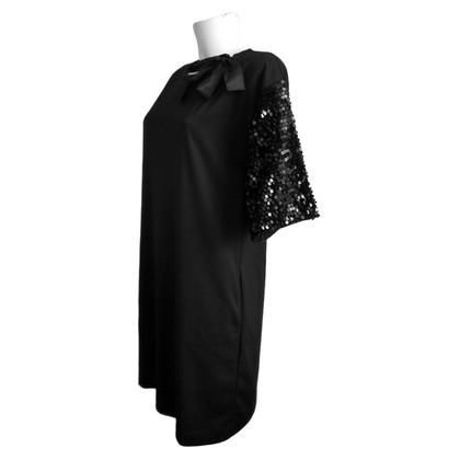 Blumarine Robe de soirée avec des paillettes